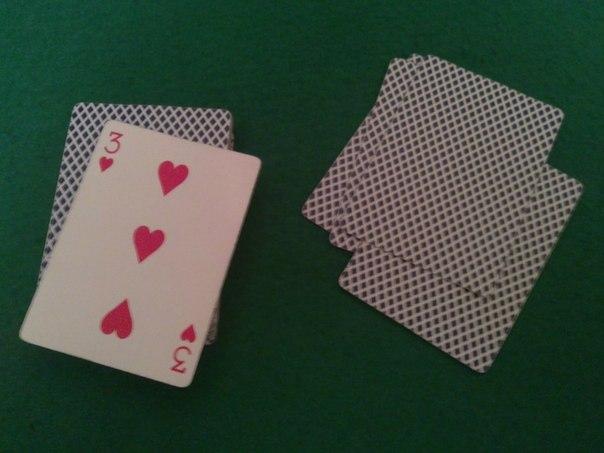 """Фокус с картами для новичков """"Угадай карту"""""""