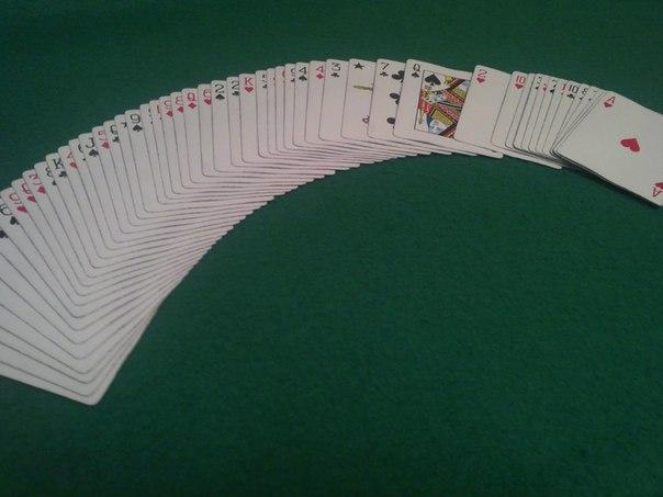 """Классный карточный фокус """"Читаю мысли"""""""