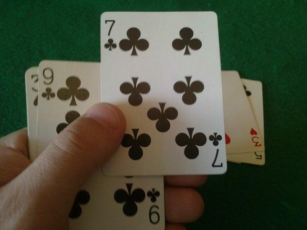 "Фокус с картами ""Угадай карту"""